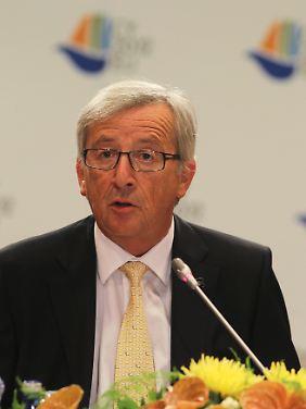 Eurogruppenchef Juncker erwartet keine schnellen Beschlüsse.
