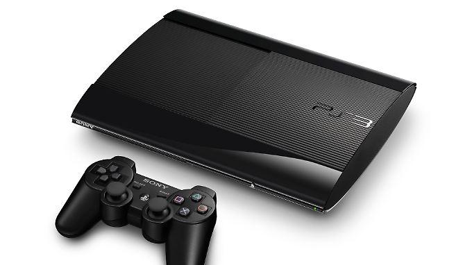 Schlanker und leichter: Die neue PS3.