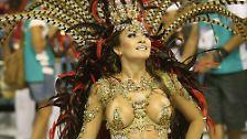 Eine Stadt im Rausch: Rio vergibt Karnevalskrone