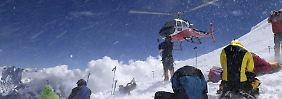 Lawinenabgang am Manaslu: Überlebende setzen Bergtour fort