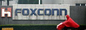 Prügelei sorgt für Produktionspause: Foxconn-Werk produziert wieder
