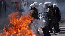 Bürger auf den Barrikaden: Streik in Griechenland - Proteste in Spanien