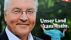 In der zweiten Großen Koalition der Bundesrepublik wird Frank-Walter Steinmeier Außenminister - und Merkels Herausforderer bei der Wahl 2009.