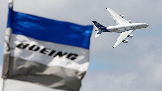 Die EU fordert empfindliche Strafzahlungen von Boeing.