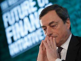 Vom Favoriten zum Außenseiter: Italiens Notenbanker Mario Draghi.