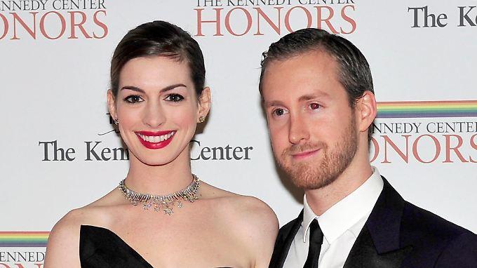 Seit vier Jahren ein Paar: Hathaway und Shulman.