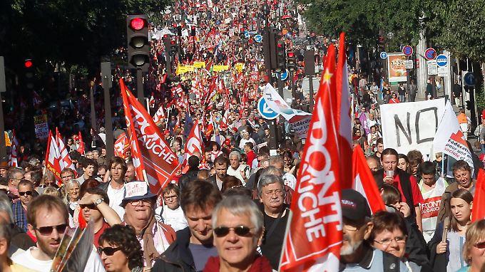 Bis zu 80.000 Menschen sind dem Aufruf zu den Protesten gefolgt