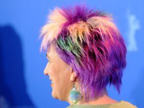 "Eine starke ""Friseuse"": Kathleen Cieplik."