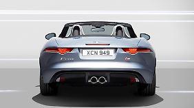 Der zweisitzige Roadsters ist das wichtigste Modell für das Markenimage Jaguars.