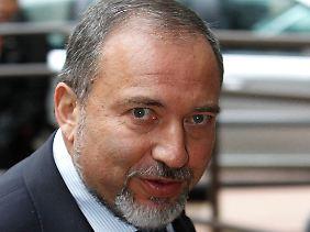 Israels Außenminister Avigdor Lieberman.