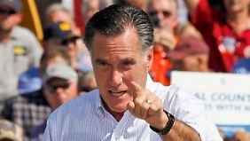 Trendwende in US-Wahlkampf: Romney holt Obama ein
