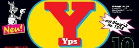 """So sieht die neue """"Yps""""-Ausgabe aus."""