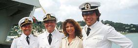 """Sascha Hehn (r.) war schon 1981 bis 1991 Teil der """"Traumschiff""""-Crew."""