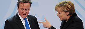 Einer der nicht mitmachen will: der britische Premierminister David Cameron.