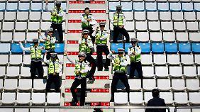 In Südkorea tanzt auch die Polizei den Gangnam-Style.