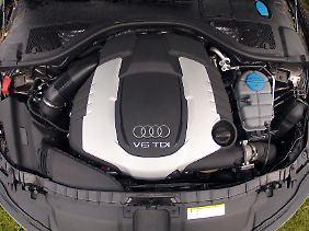 Der 3-Liter-Biturbo macht den A6 zu einem der stärksten Diesel-Kombis weltweit.