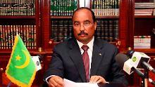 Mauretaniens Präsident Mohamed Ould Abdel Aziz ist beschossen und verwundet worden.