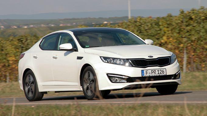 Mit dem Optima Hybrid stößt Kia in die Liga der Alternativ-Antriebe vor.
