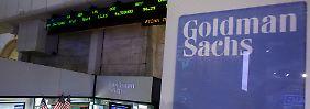 Die Zahlen von Goldman Sachs waren eines der Tagesthemen.