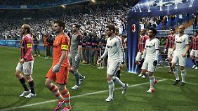 Konami fordert den Spielern nicht viel Mühe ab: Cassilas, Pepe, Ronaldo & Co. sind optisch toll getroffen.