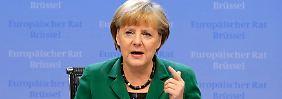 Merkel hat sich in Brüssel durchgesetzt - die CSU findet das gut.