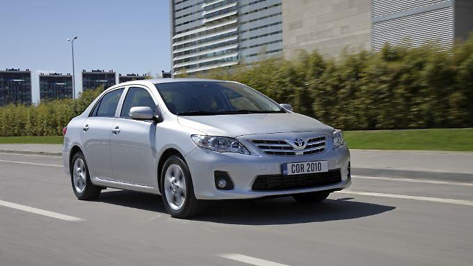Soll zur Stufenhecklimousine werden: der Toyota Corolla.