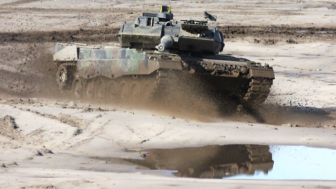 Ein deutscher Verkaufsschlager: der Leopard-2-Panzer.