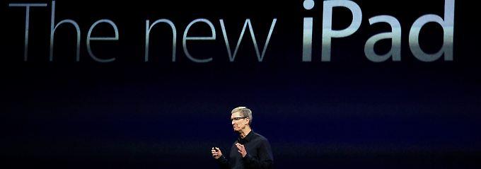 Apple-CEO Tim Cook will die Marke hochhalten.