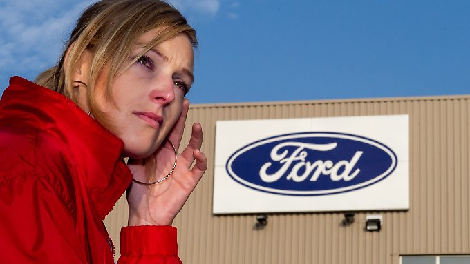 Trauer und Entsetzen bei den Ford-Mitarbeitern in Genk.