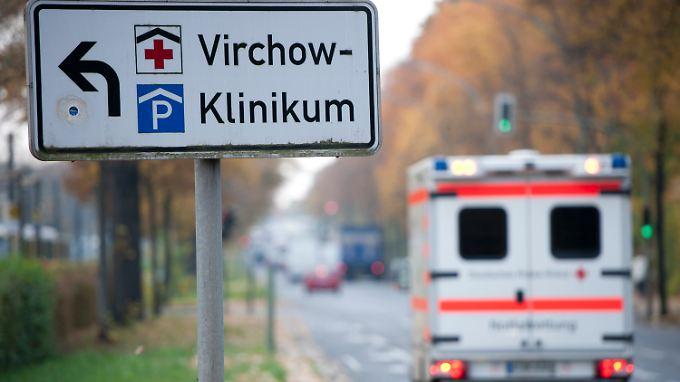 Das Virchow-Klinikum der Berliner Charité. Hier befindet sich die Station für Frühgeborene.