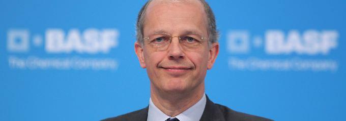 Hält an den Zielen für das Gesamtjahr fest: BASF-Chef Kurt Bock (Archivbild).