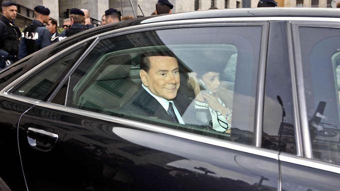 Silvio Berlusconi hat genug.