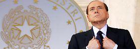 Die Affäre um TV-Rechte hat Berlusconi eingeholt.