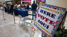 Stimmabgabe in Las Vegas.