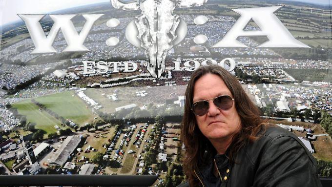 Thomas Jensen, Veranstalter des Wacken Open-Air Festivals.