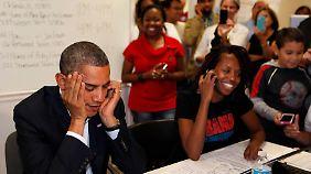 """""""Sandy"""" wirbelt Wahlkampf durcheinander: Obama muss sich beweisen"""