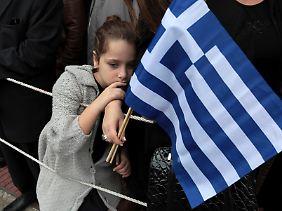 """Ende Oktober begeht Griechenland den """"Ochi""""-Tag, um an den Widerstand gegen Italiener und Deutsche im Zweiten Weltkrieg zu erinnern."""