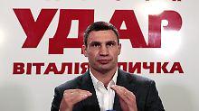 Vitali Klitschko muss mit seiner Partei wohl in die Opposition.