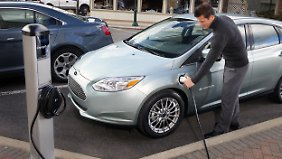 Die grüne Emotionalität wird mit dem Ford Focus Electric angesprochen.