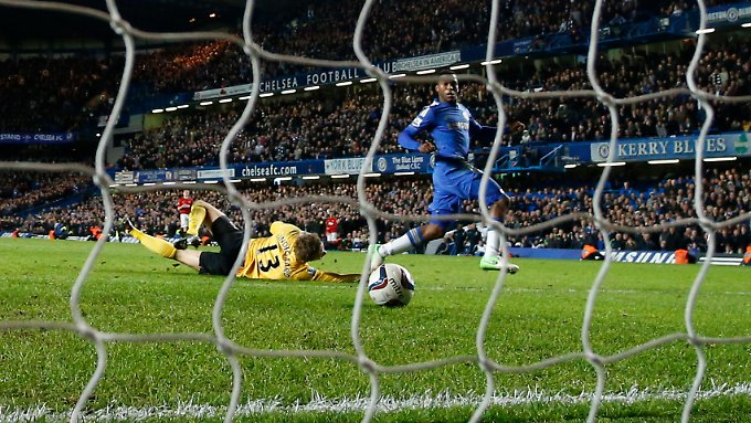 Daniel Sturridge brachte Chelsea in der Verlängerung erstmals in Führung - sie hielt bis zum Schluss.