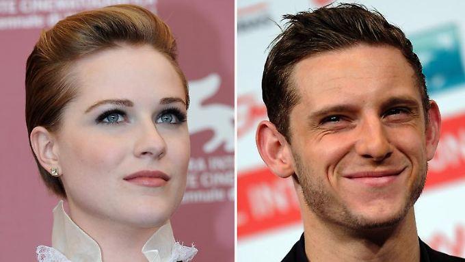Nun Frau und Mann: Evan Rachel Wood und Jamie Bell.