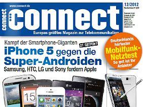 """Die neuste Ausgabe des Telekommunikationsmagazins """"Connect""""."""