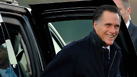 Mitt Romney beklagt die gestiegene Arbeitslosigkeit.