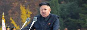 Kim Jong Un ist der nordkoreanische Staatschef.