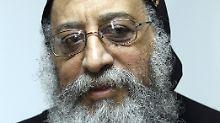 Bischof Tawadros steht der koptisch-orthodoxen Kirche vor.