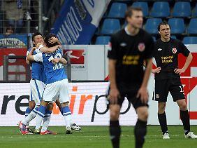 Bochum lag gegen Cottbus zwischenzeitlich ebenfalls 0:2 zurück, machte daraus aber noch ein Remis.