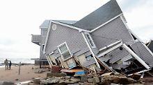 """""""Sandy"""" hat Zehntausenden Amerikanern das Dach über dem Kopf genommen."""