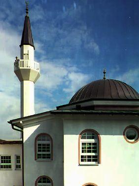 Die Moschee in Karlstadt am Main war 1996 die erste in Franken. Ihr Bau verlief reibungslos.