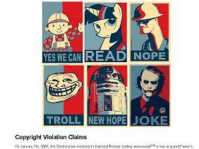 """Bekannte Beispiele des """"Hope""""-Mems."""