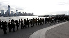 Wer von Jersey hinüber nach Manhattan will, braucht Geduld.